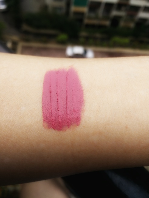 Swatch- NYX Soft Matte Lip Cream in San Paulo